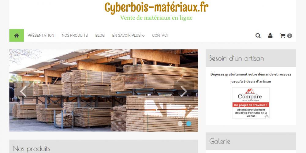 boutique en ligne matériaux de construction