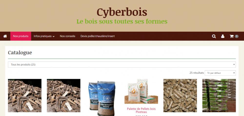 création site Cyberbois