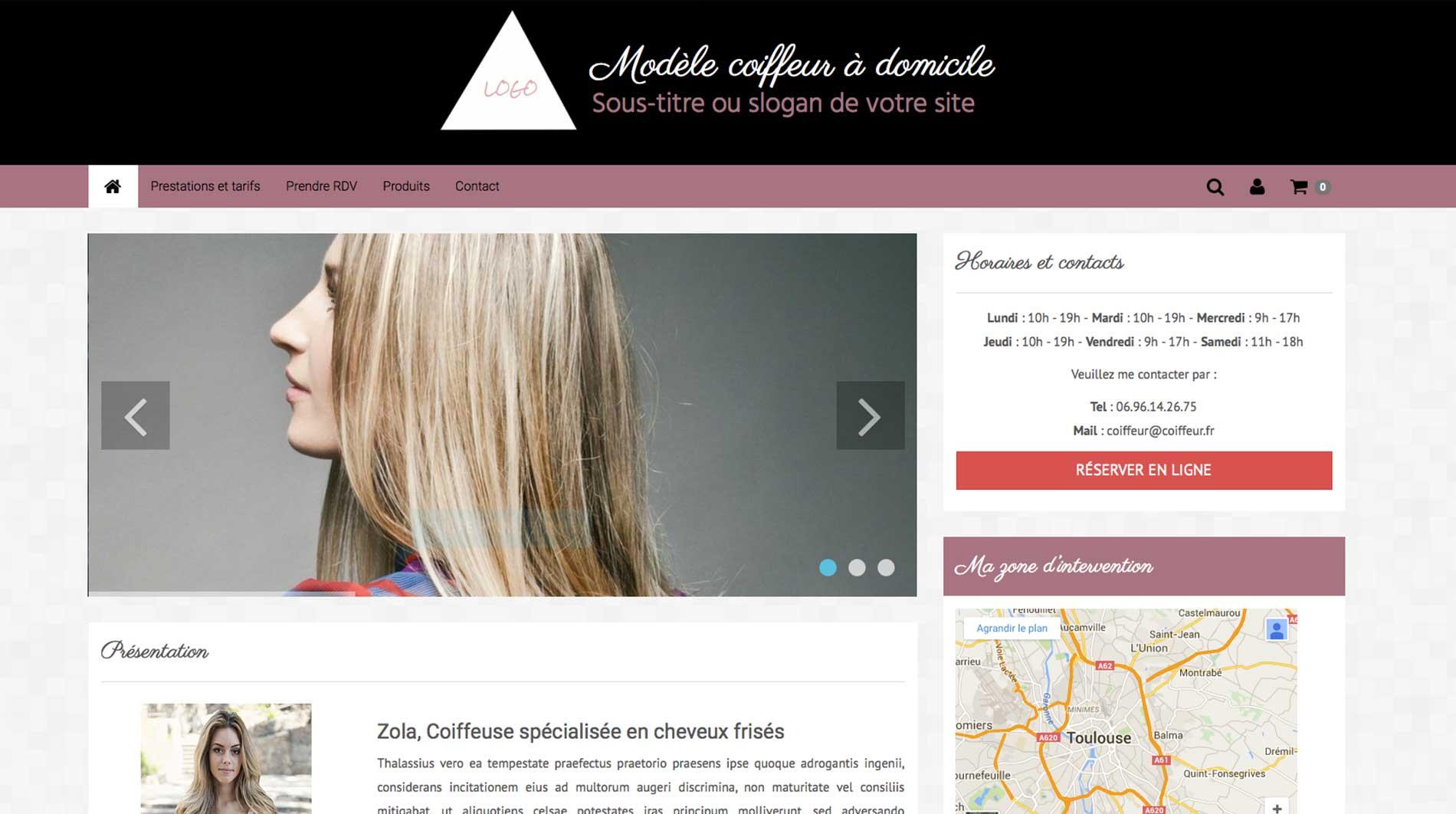 accueil-site-coiffeur-a-domicilesite internet pour coiffeur à domicile