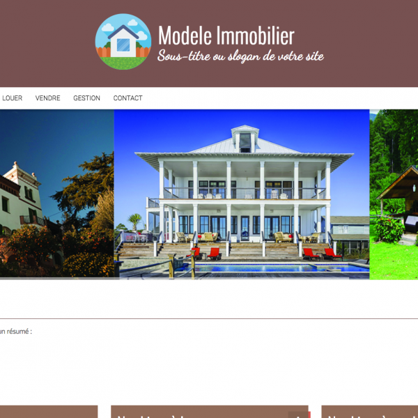 Site internet immobilier