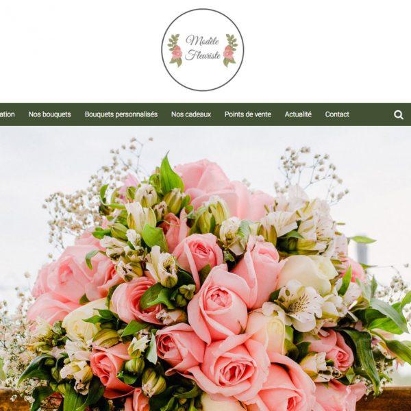 site internet pour fleuriste