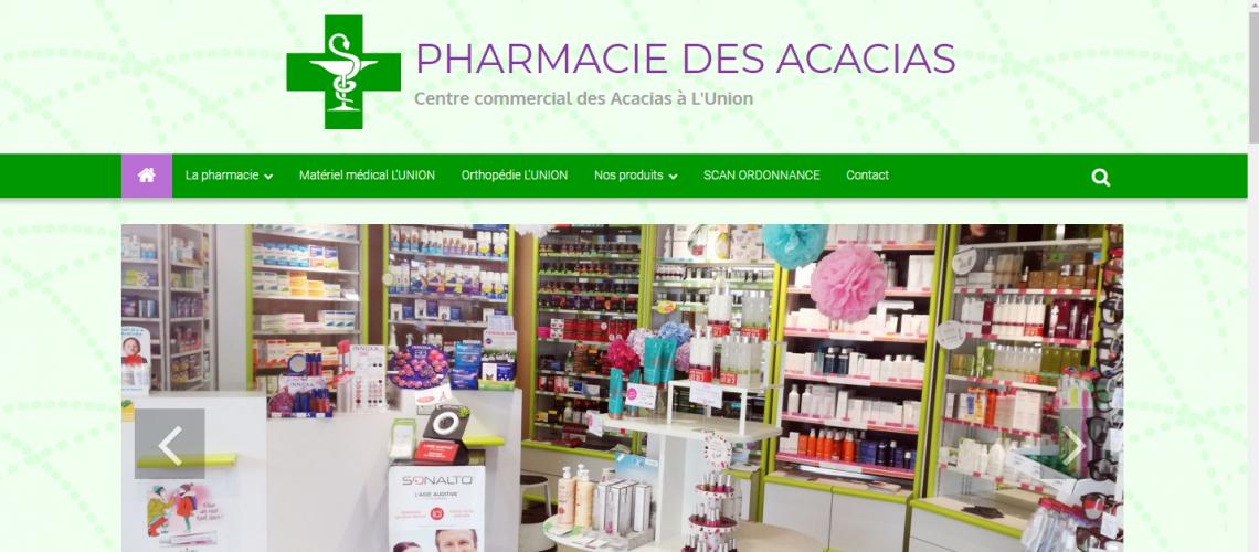 Site pour pharmacie
