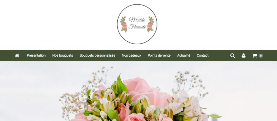 Site pour fleuriste
