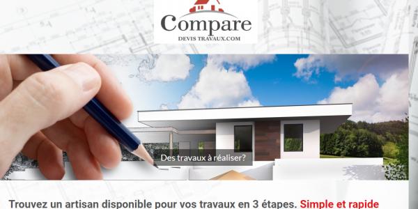 Site internet Comparedevistravaux.com