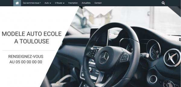 Site internet pour auto école